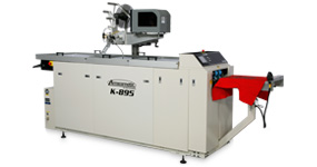 Amscomatic's T Shirt folding machine